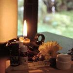水縄茶寮の櫨満載体験